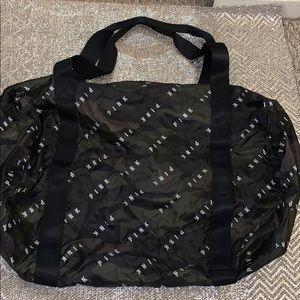 Handbags - Victoria Secret packable camo duffle bag